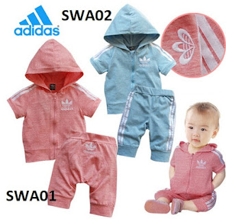 Clearance Stock : RM36 - Set 2pcs Brand Adidas