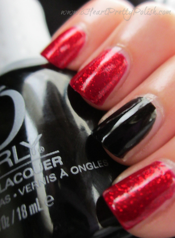 China Glaze Ruby Pumps Orly Liquid Vinyl