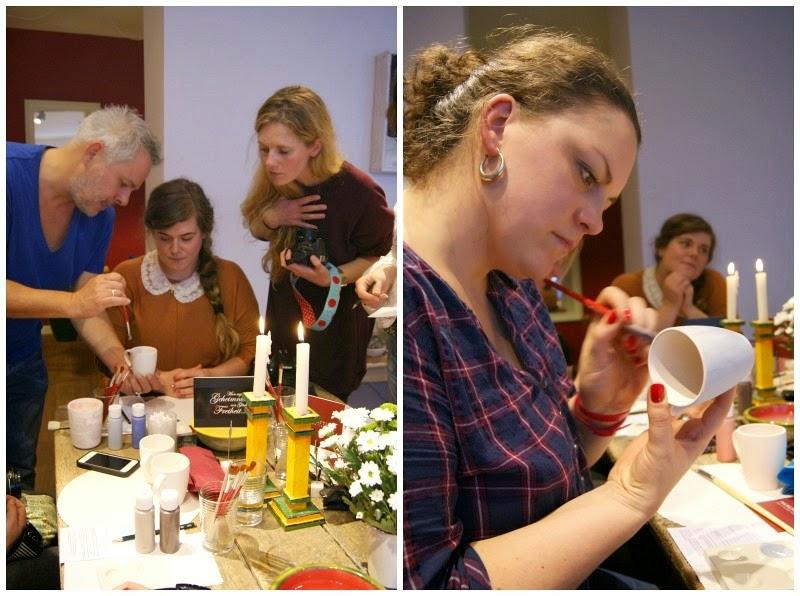 Keramikmalerei und ihre Techniken