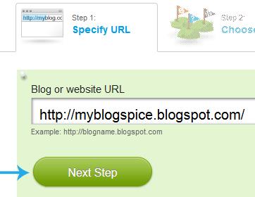specify URL