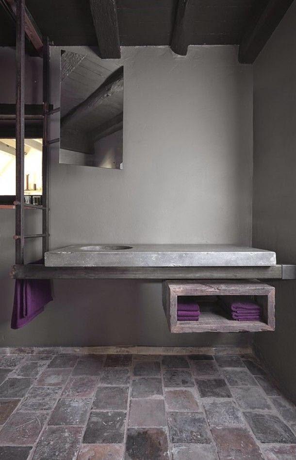 Medio Baño Minimalista:27 baños minimalistas en fotos, cuando menos es más
