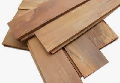 lantai kayu jati type parquet dan mini flooring