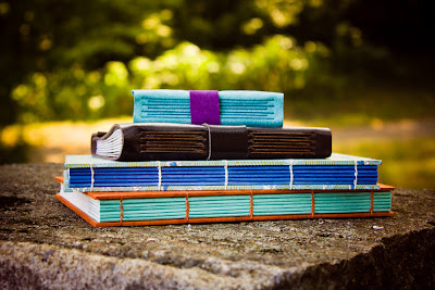 Handmade books photo at Shelby Park in Nashville