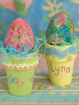 Easter Personalized Place Cards by Debbie Mumm