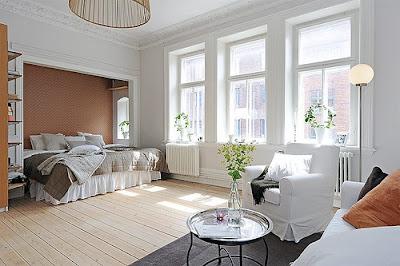 quarto de casal bonito e simples