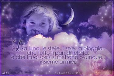 La luna le stelle.