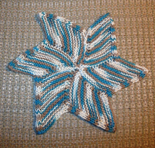 Knitted Starfish Pattern : Im Knitting, not Smoking: February 2013