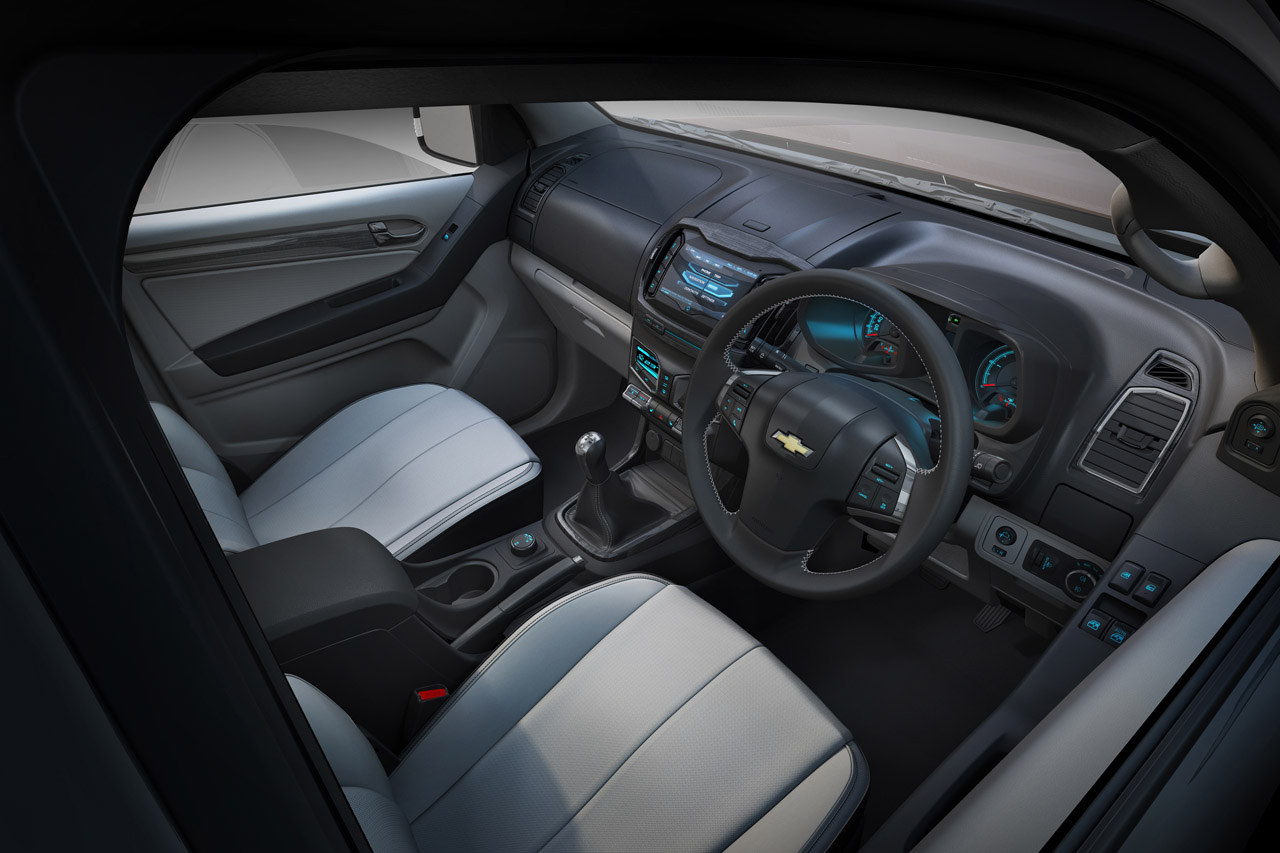 CHEVROLET COLORADO INTERIOR DESIGN