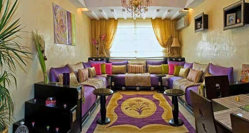 D coration de salon marocain - Les plus beaux salons ...
