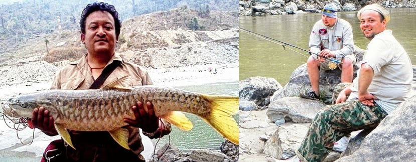 Hill body to promote fishing in Teesta and Rangit with help from tour conductors and UK organisation