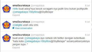 Info MOS dan himabauan untuk tweet #SbyMos