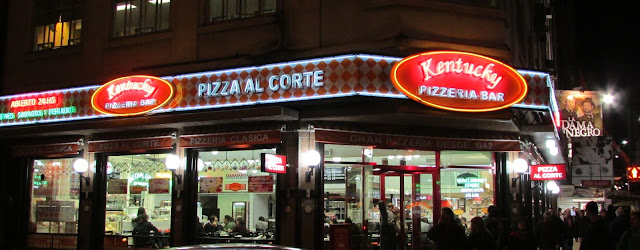 Kentucky, pizza, Buenos Aires, Argentina