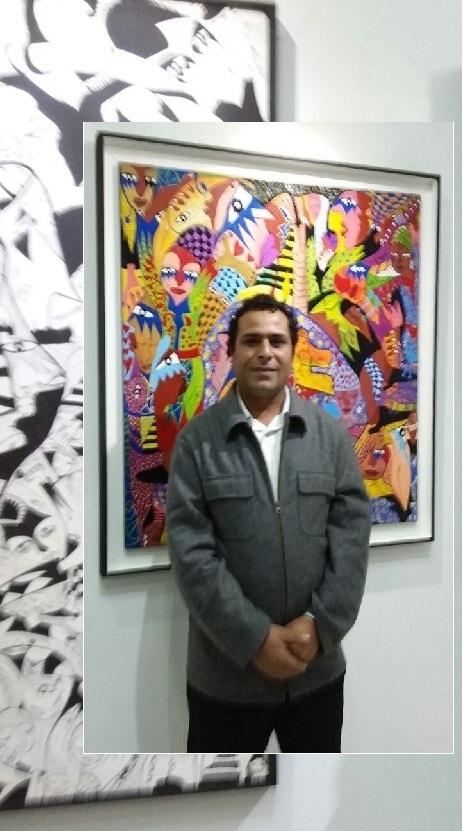 مصطفى بن مالك ... لوحاته تعكس تفاصيل حياته المعاشة