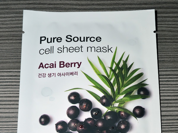 MISSHA - Pure Source cell Sheet Mask - Acai Berry