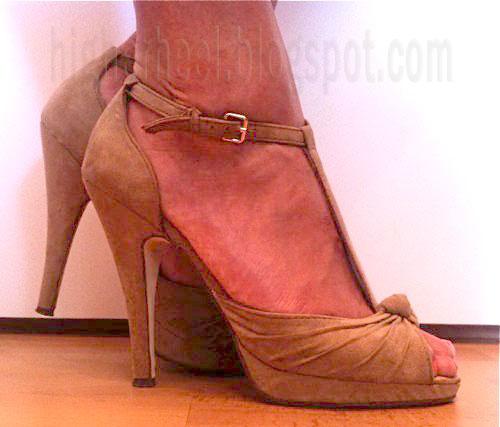 5 inch suede high heels