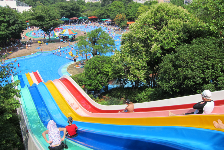 fun free daegu travel tour a clean and inexpensive outdoor - Cool Pools With Slides