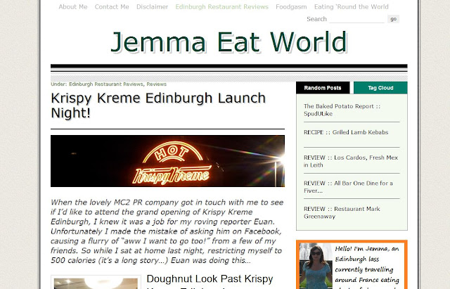 Jemma Eat World blog