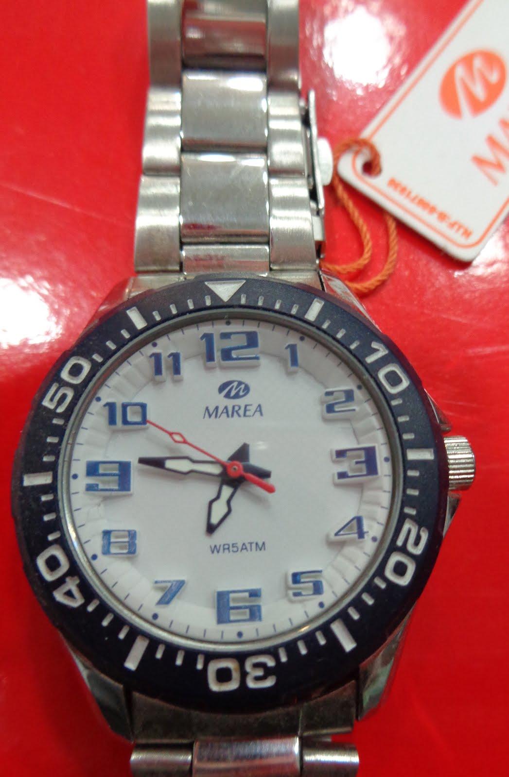 Reloj Marea tamaño cadete, acuático