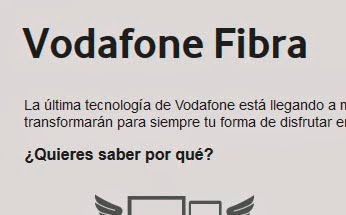 precios de Vodafone Fibra en abril 2014