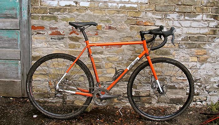 Fat Guy On An Orange Bike The New Steed