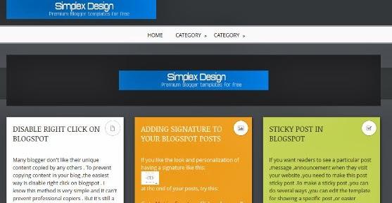 Simplex ColorBlock