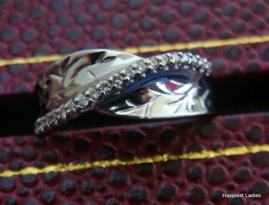 designer ring platinum with diamonds