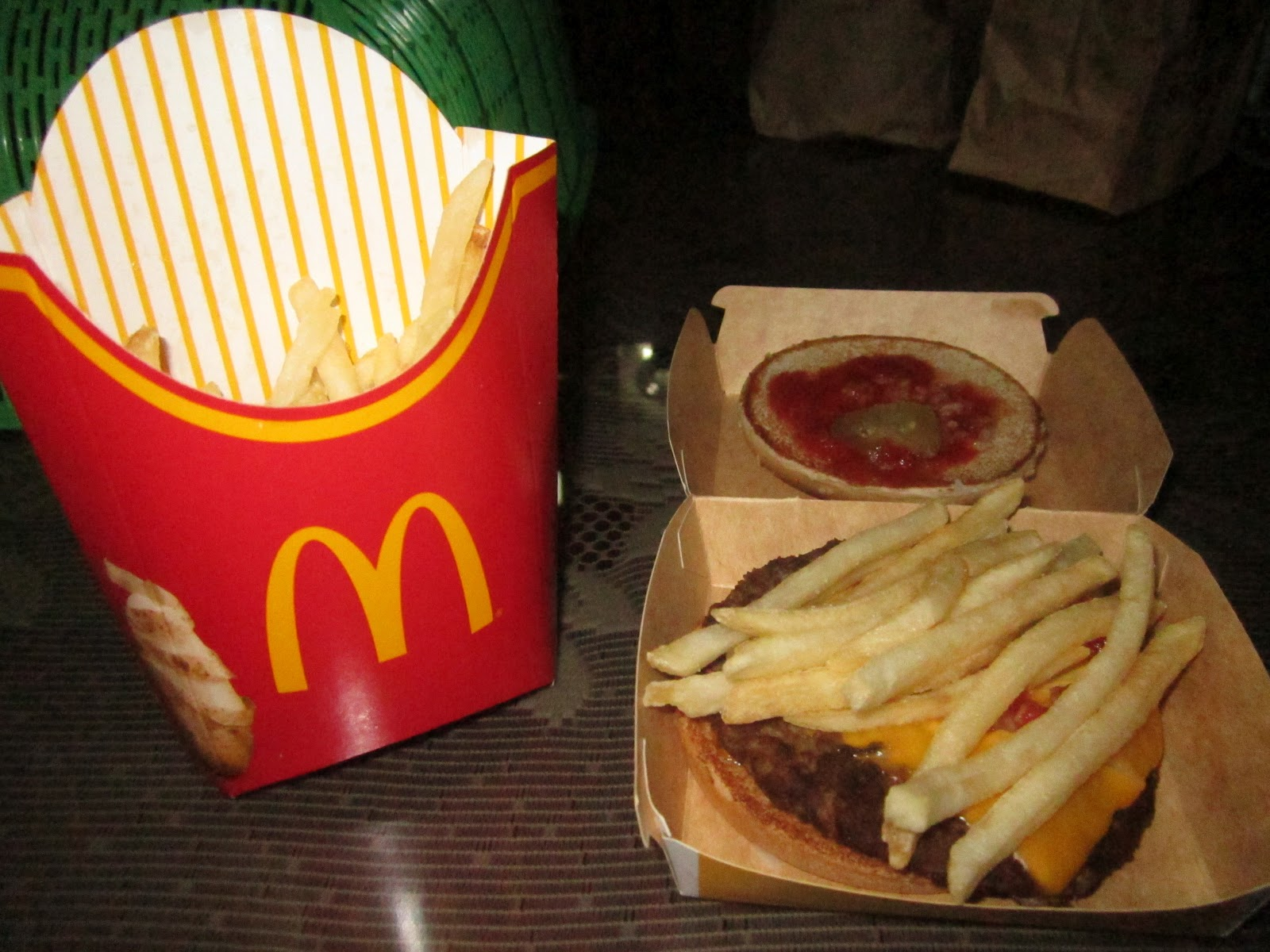 Quarter Pounder And Fries My Favorite Word is &q...