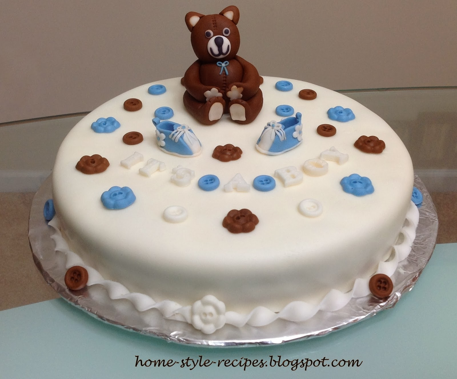 Share-A-Recipe: Baby Shower Cake (It s a Boy!!!)