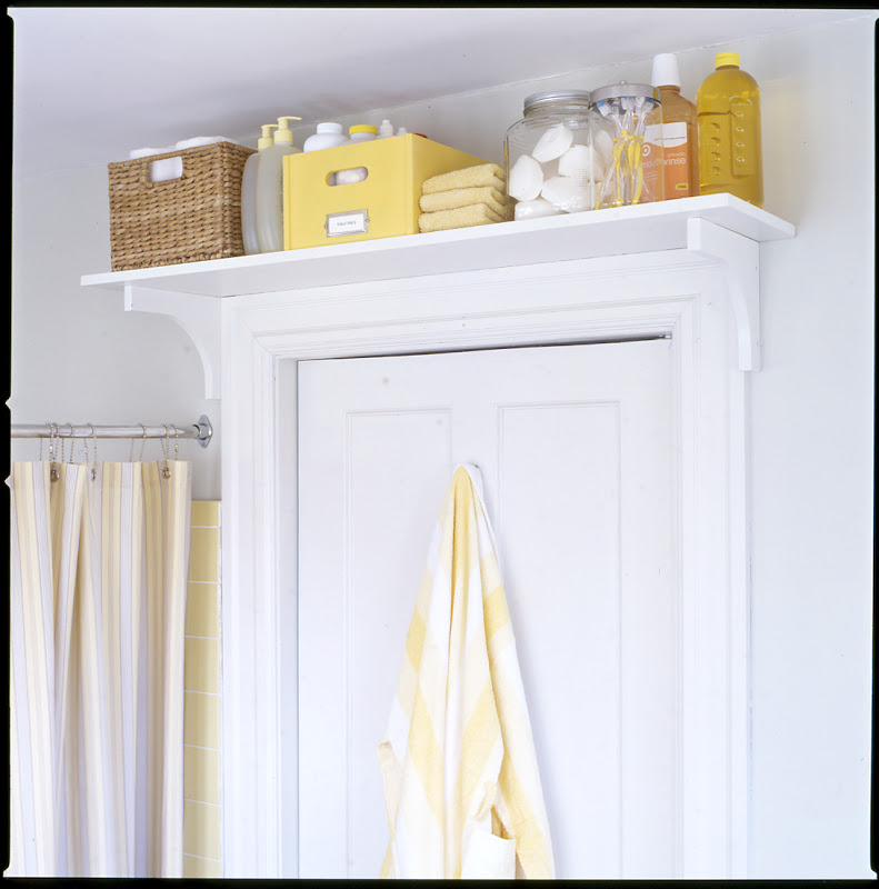 Storage solutions for small spaces for Small bathroom solutions