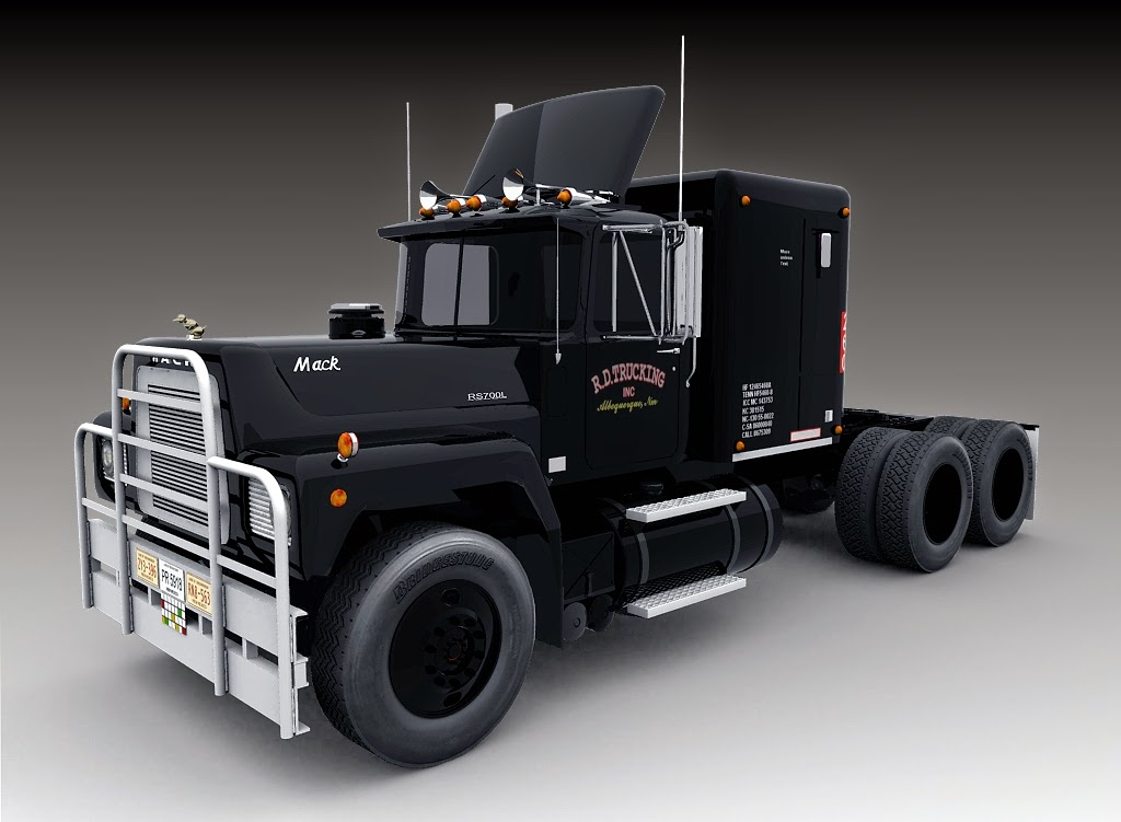 Mack-R S700L Renders by volunteergraphics
