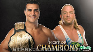WWE Night of Champions 2013 Alberto Del Rio vs RVD Spoilers Betting Odds