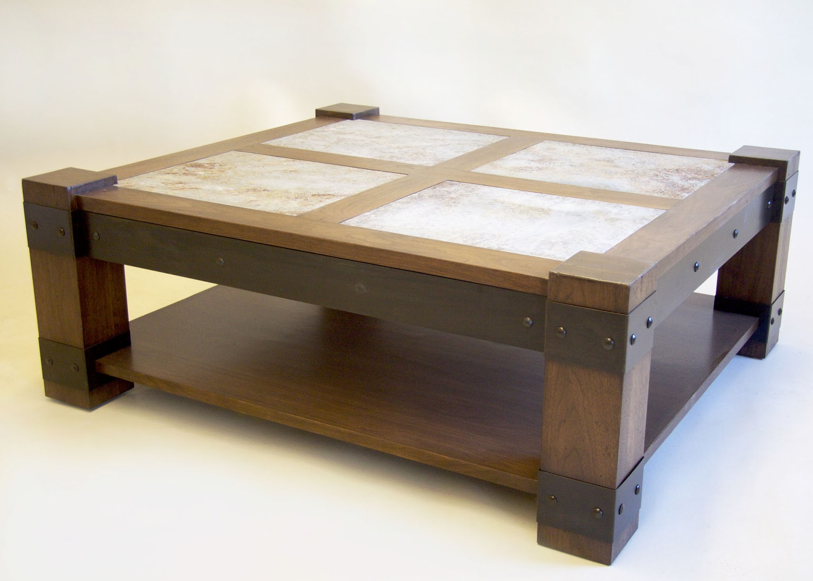 Rustic modern coffee table Coffee tables rustic