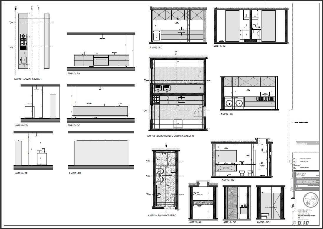 BIM Revit : Case Marcio Kogan Studio MK27 #60676B 1097 776