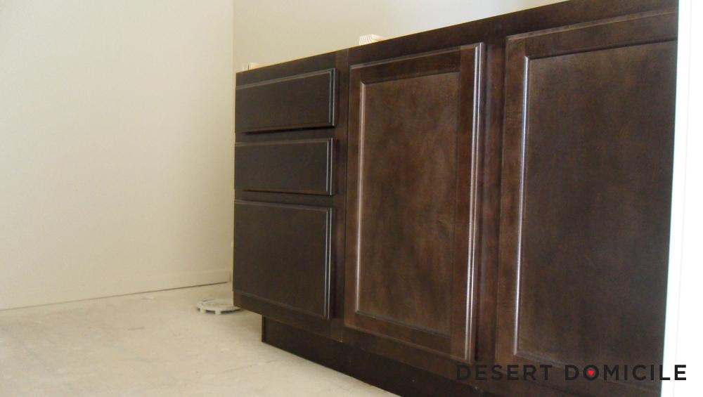 Chocolate Cabinets Desert Domicile