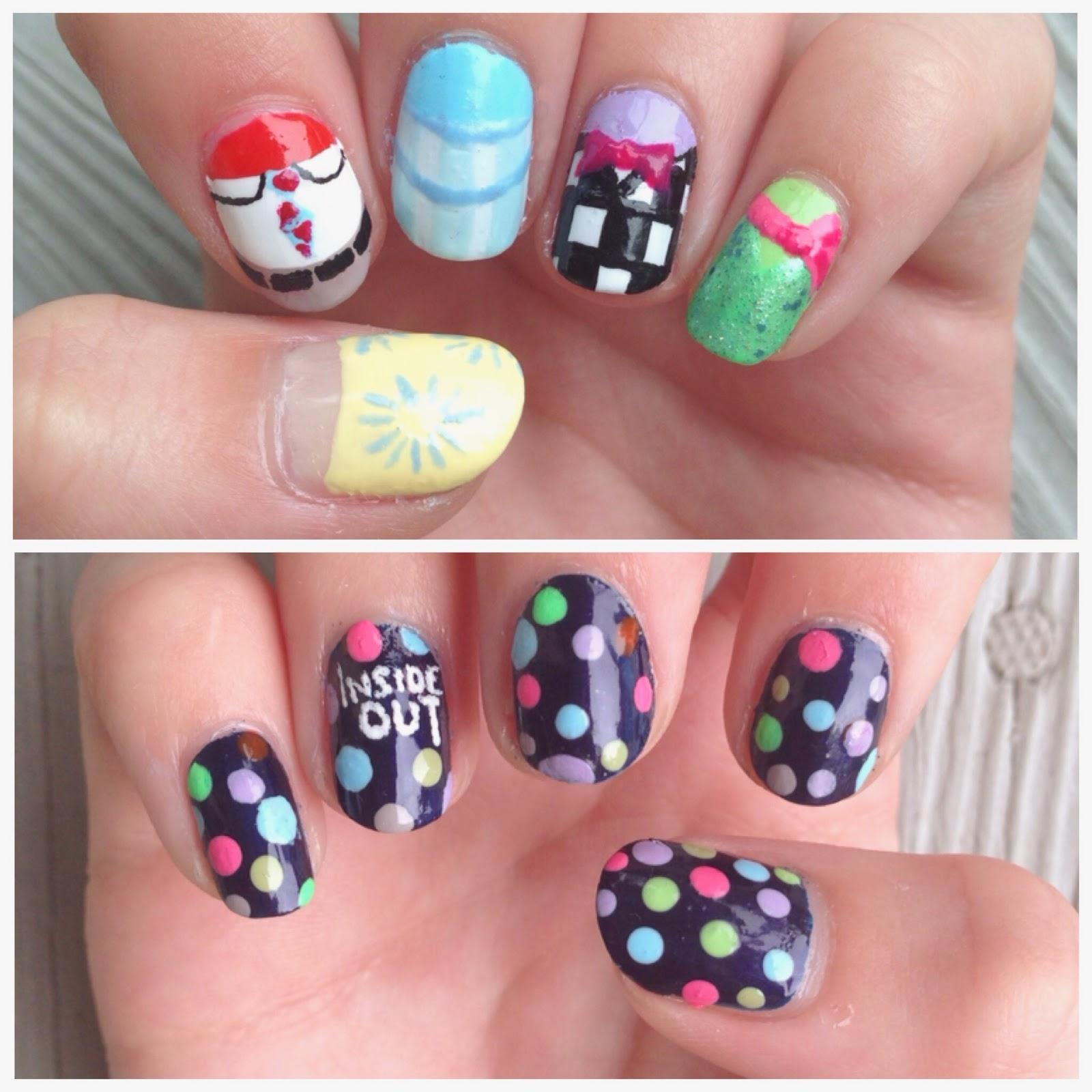 Nail Art by Katy: Disney Pixar\'s \