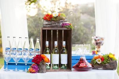 puesto bebidas refrescantes boda
