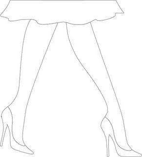 desenho pernas