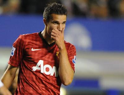 Primer golazo de Van Persie con el Manchester United