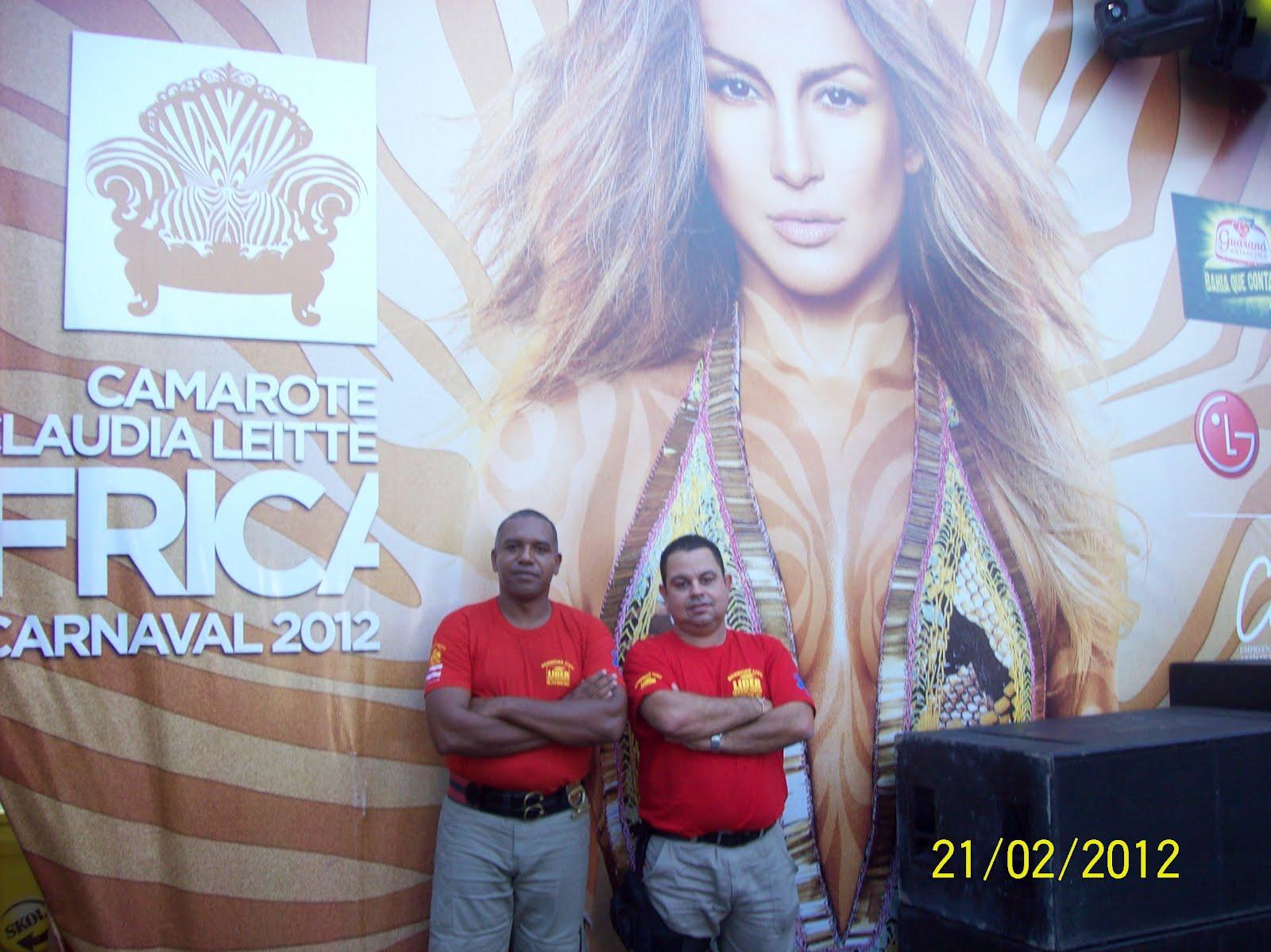 Camarote de Claudia Leitte - Carnaval de 2012.