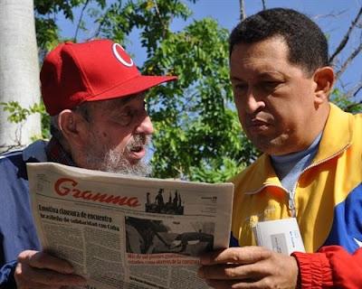 la proxima guerra chavez fidel castro cuba venezuela