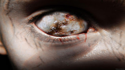 hd scary eyes wallpapers - Blind eyes