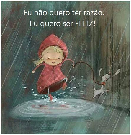 Ser feliz...