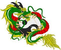 Motif Tato Naga Warna 17