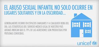EL ABUSO SEXUAL INFANTIL NO SÓLO OCURRE EN LUGARES SOLITARIOS