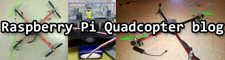 RPi Quadcopter blog