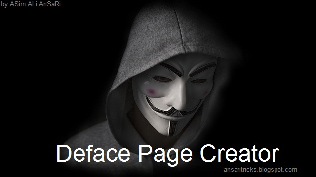 Deface Page Creator For Hackers Free Download