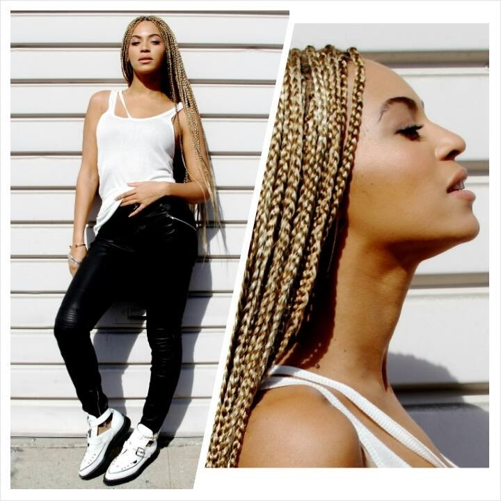 Crochet Braids Mckinney Tx : Moreover Christian Louboutin Lipstick Also Beyonce Blonde Box Braids ...