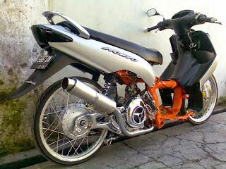 Modifikasi Yamaha Nouvo Ceper