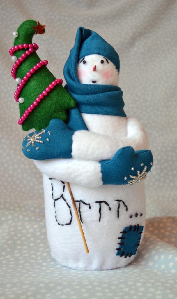 Снеговики быстро своими руками