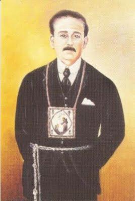 Imagen del Dr. Jose Gregorio Hermandez con el escapulario de la Virgen del Carmen.